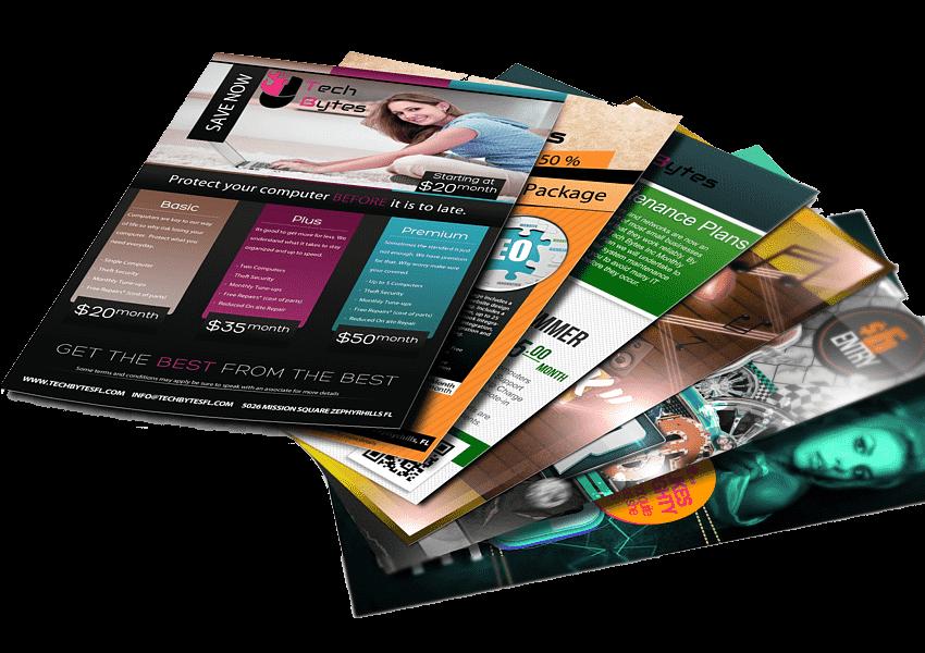 Brochures Flyer designing Edmonton